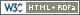 Valid XHTML + RDFa